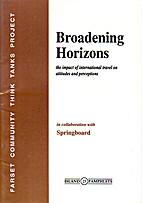 Broadening Horizons: The Impact of…