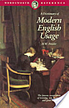 A Dictionary of Modern English Usage (Oxford…