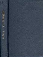 Hermeneutics by D. R. Dungan