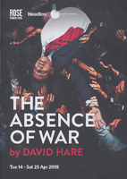 The Absence of War [theatre programme] by…