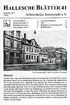 Hallesche Blätter 41.