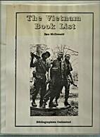 Vietnam Book List by Ben McDonald