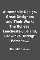 Automobile Design, Great Designers and Their…