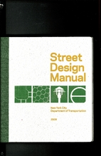 Street Design Manual : New York City…