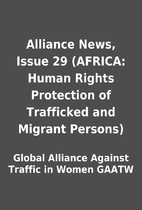 Alliance News, Issue 29 (AFRICA: Human…