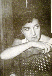 """Author photo. Fotograph taked from the book """"Historia de la Literatura Argentina Vol I"""" edited by Centro Editor de América Latina. Published on November 1968 Buenos Aires, Argentina"""