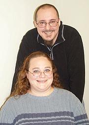 Author photo. Tiffany A. & Clark L. Higgins