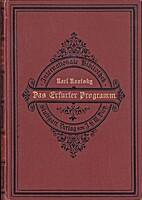 Das Erfurter Programm in seinem…