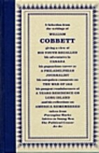 Cobbett's America by William Cobbett