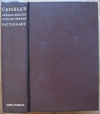 Cassell's German Dictionary: German-English,…