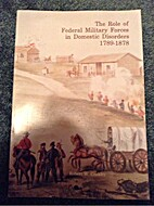 The role of federal military forces in…