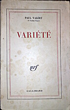 Variete by Paul Valéry