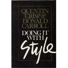 Doing it with style by Quentin Crisp