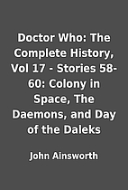 Doctor Who: The Complete History, Vol 17 -…