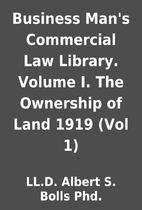 Business Man's Commercial Law Library.…
