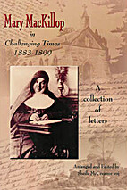 Mary MacKillop in challenging times…