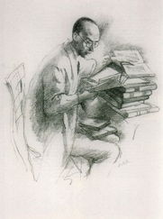 Author photo. Lithograph by Emil Orlik (1870-1932)