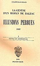 La genèse d'un roman de Balzac:…