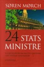24 statsministre by Søren Mørch