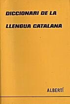 Diccionari de la llengua catalana by…