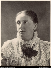 Author photo. Spencer Shier, 1884-1950. Portrait of Ada Cambridge [picture] [1917-1926]. <br><a href=&quot;http://www.nla.gov.au&quot;>National Library of Australia</a>, nla.pic-an24862677