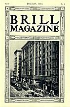Brill Magazine, vol. 9, n° 1 - January 1915…