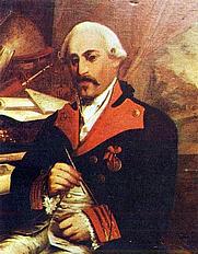 Author photo. José Cadalso. Retrato de Castas Romero. Museo Municipal. Cádiz. (1855)