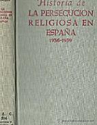 Historia de la persecución religiosa en…