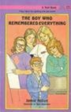 The Boy Who Remembered Everything by Jennie…