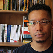 Author photo. Guy LeCharles Gonzalez