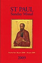 St Paul Sunday Missal 2009 by St Pauls