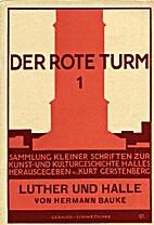 Luther und Halle by Hermann Bauke