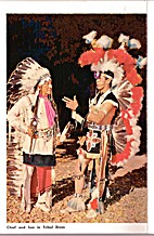 Chief and Son in Tribal Dress
