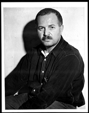 Author photo. Ben Shahn (1898-1969) Photograph dated Dec. 12, 1938 (Library of Congress Prints and Photographs Division. Reproduction Number: LC-USZ62-120969)