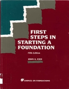 First Steps in Starting a Foundation by John…