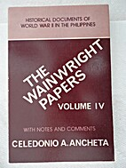 The Wainwright Papers. Volume IV: Historical…