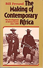 The Making of Contemporary Africa: The…