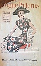 Vogue Patterns, 15 May 1946 by Conde Nast…