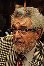 Author photo. Amando de Miguel. Photo by Guillermo Rivas Pacheco.