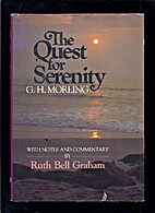 The Quest for Serenity by G. H. Morling