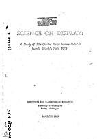 Science on display; a study of the United…