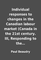 Individual responses to changes in the…