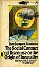 On the Social Contract: Discourse on the…