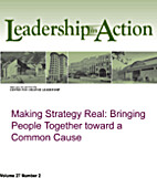 Making Strategy Real: Bringing People…