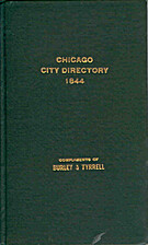 Chicago City Directory 1844 (General…