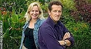 Author photo. Sarah Don (with husband, Monty)