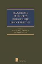 Handboek Europees burgerlijk procesrecht by…