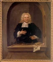 Author photo. Pieter van Musschenbroek (14 March 1692 – 19 September 1761) was a Dutch scientist. He was a professor in Duisburg, Utrecht, and Leiden, where he held positions in mathematics, philosophy, medicine, and astrology. He is credited with the invention of the first capacitor in 1746: the Leyden jar. He performed pioneering work on the buckling of compressed struts. Musschenbroek was also one of the first scientists (1729) to provide detailed descriptions of testing machines for tension, compression, and flexure testing.