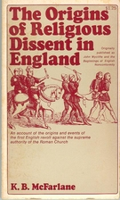 The Origins of Religious Dissent in England…