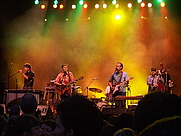Author photo. Calexico playing in Jena (Germany) 18.07.2007, by Moneo